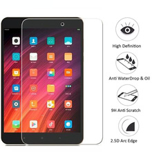 9H Tempered Glass For Xiaomi Mi Pad 4 Screen Protector Protective Film for xiaomi MiPad 4 Pad4 MiPad4 Tablet 8.0 inch Glass Film smart case for mi pad4 mipad 4 stand case for xiaomi mi pad 4 mipad4 8 0 inch tablet pc protective cover cases screen film gifts