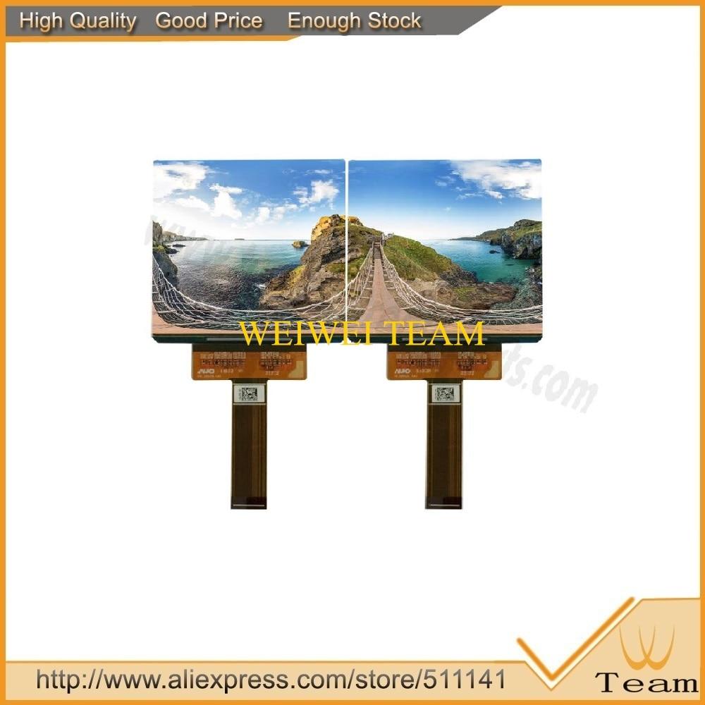 5 pcs/lot double écran lcd 90 hz 3.81 pouces super AMOLED écran d'affichage lcd avec carte HDMI à MIPI avec visualisation complète pour VR AR MR