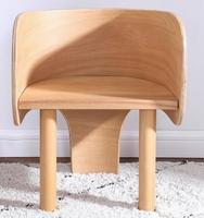 Твердая древесина детского стульчика милый слон мультфильм стула исследования стулья