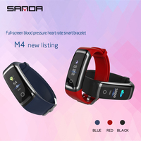 SANDA Bluetooth Smart Watch for iPhone Samsung HUAWEI Sport Fitness Watches Continuous Heart Rate Blood Pressure Bracelet Reloj