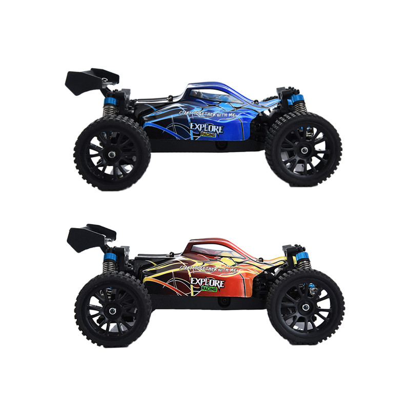 HT  38KM High-speed Off-road Car 2.4G Electric Remote Control Car Four-wheel Drive Drift Anti-wrestling Rechargeable Car Models dongxin mercedes benz sl65 speed remote control steering wheel 1 18 car drift charge black