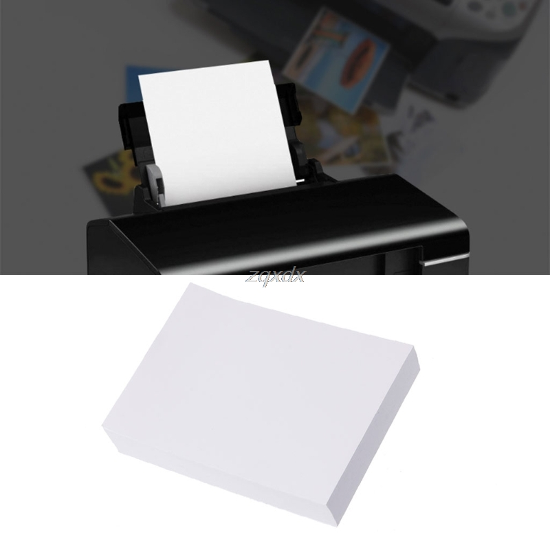 100Pcs Glossy 5 3R Photo Paper For Inkjet Printers Photographic Graphics Output Z18 Drop Ship