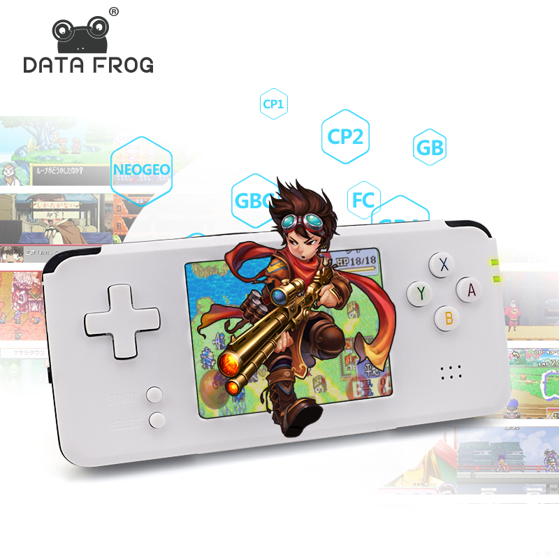 Data Frog 3 0 inch Retro Portable MP5 Game Player Built in 3000 Classic Games Handheld