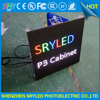 HD Indoor Rental Led Display Screen SMD P3 Die Casting Led Video Wall Panel 576mmx576mm