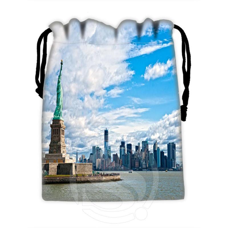 Best Nice Custom New York #1 Drawstring Bags For Mobile Phone Tablet PC Packaging Gift Bags18X22cm SQ00715-@H0297