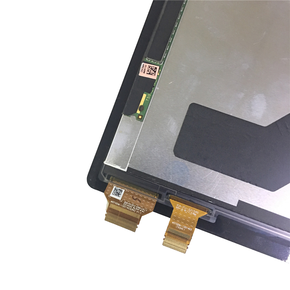 12 3'' For MicroSoft Surface Pro 4 1724 LCD Display Touch Screen Digitizer  Assembly Replacement