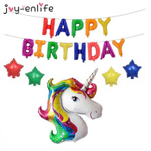 Buy   Letter Balloons Unicorn Party Baby Shower  online