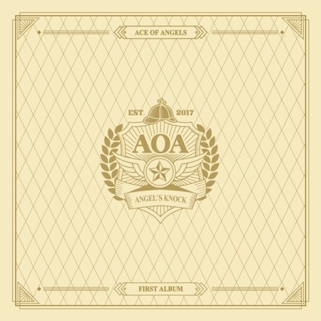 AOA - VOL.1 ANGEL'S KNOCK (A VER)  Release Date 2017.01.03 полочная акустика dali opticon 2 black ash