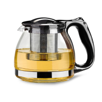 800ml Handmade Teapot With Filter Heat Resistant Glass Tea Pot Infuser Stainless Steel Kettle Wholesale Tea Pots Drinkware