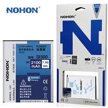 Originele Nohon EB L1G6LLU Voor Samsung Galaxy S3 Siii Duos S 3 Iii Neo I9300i I879 T999 2100 Mah Mobiele Telefoon batterij In Voorraad
