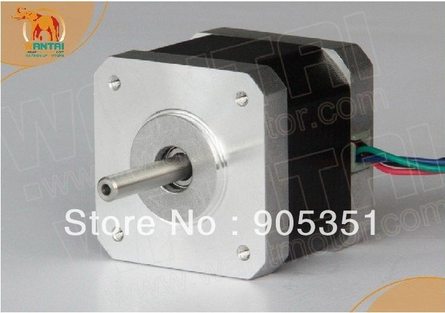 1PC 3D Printer Nema17 for 1.7A, 4000g.cm, 40mm length, 4-Lead 2 phase Wantai Stepper Motor--42BYGHW609