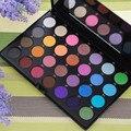 De alta Calidad de 28 Colores de Sombra de Ojos Set con 2 Cepillos de Belleza Espejo de Maquillaje Conjunto Femenino Impermeable Productos de Maquillaje