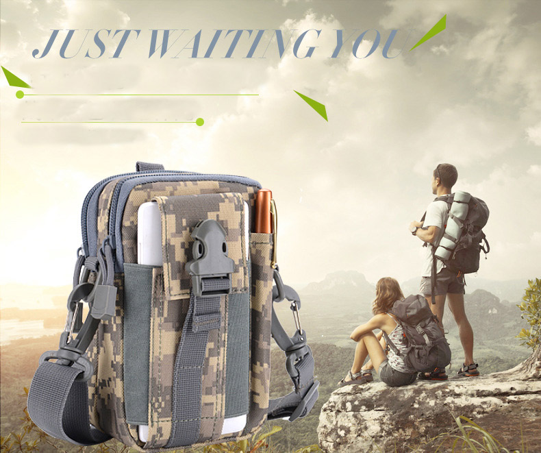 Multifunctional Camping Waist Pack Climbing Emergency Molle Survival Kits Outdoor Tactical Bag Wallet Pouch Outdoor Sport Pack (13)