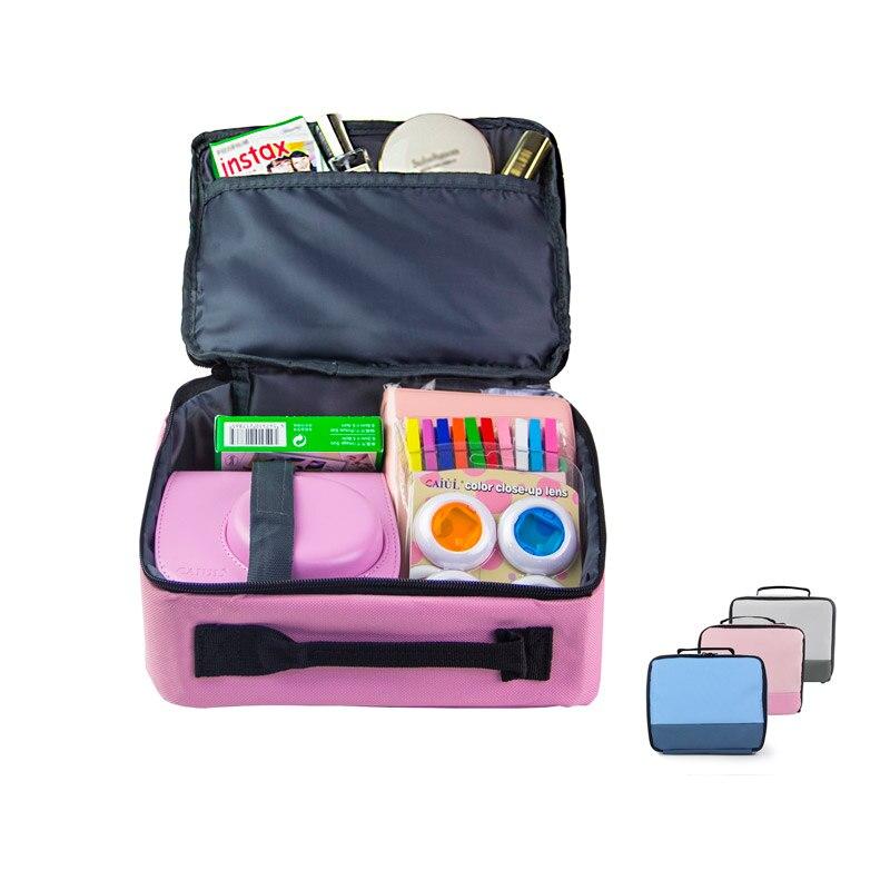 CAIUL Reise Lagerung Paket Tasche Toolkit Tasche Draht lagerung tasche für Fujifilm instax mini 8 9 7 s Kitty zubehör