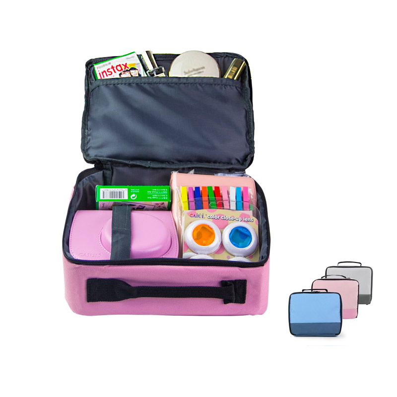 CAIUL Travel Storage Package Bag Toolkit Bag Wire storage bag for Fujifilm instax mini 8 9 7s Kitty accessories