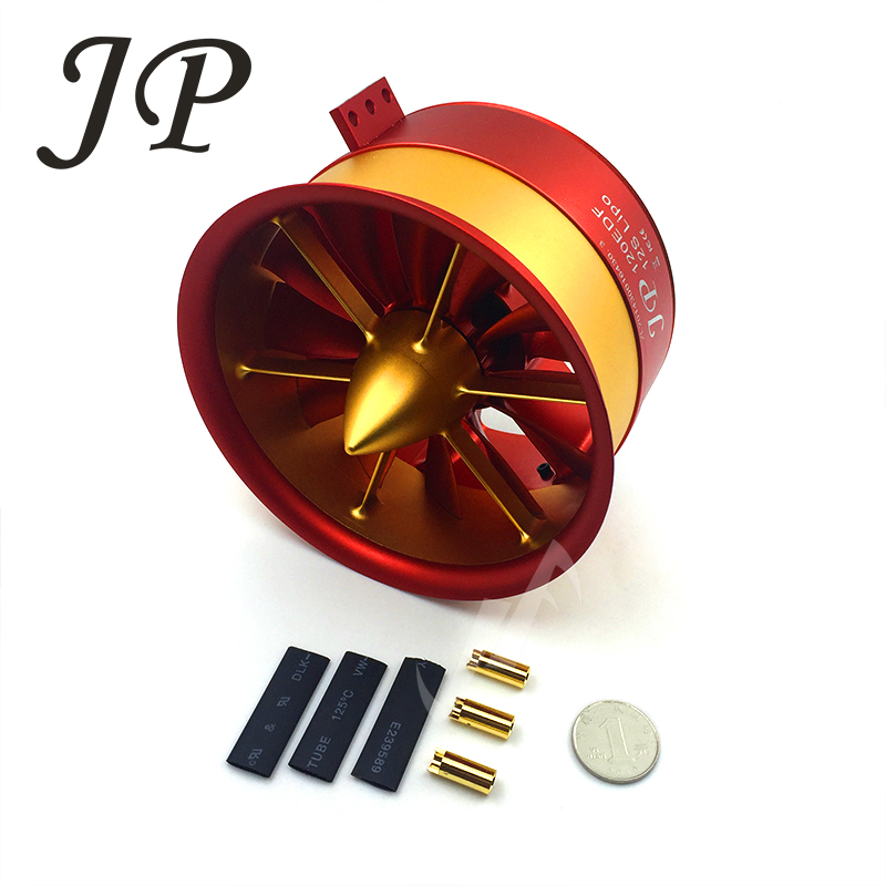 RC Air Plane 50V, 142A,7100W,9.3KG JP120mm EDF Ducted Fan 12Blades with 5060 Motor 750KV All Set free shipping 5 blade 64mm outrunner ducted fan 4300kv brushless motor 30a esc for lipo rc jet edf plane airplane fan
