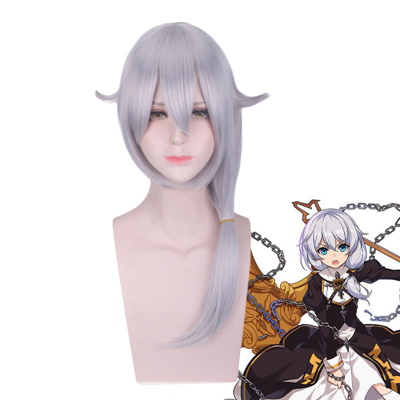 Honkai Impact 3 Theresa Apocalypse Women Long Wig Cosplay Costume MmiHoYo Heat Resistant Synthetic Hair Party Role Play Wigs