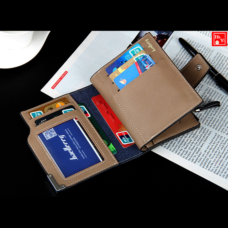 a50bf6a8faf8 Wallet men leather men wallets purse short male clutch leather wallet mens  Baellerry brand money bag quality guarantee-in Wallets from Luggage & Bags  on ...
