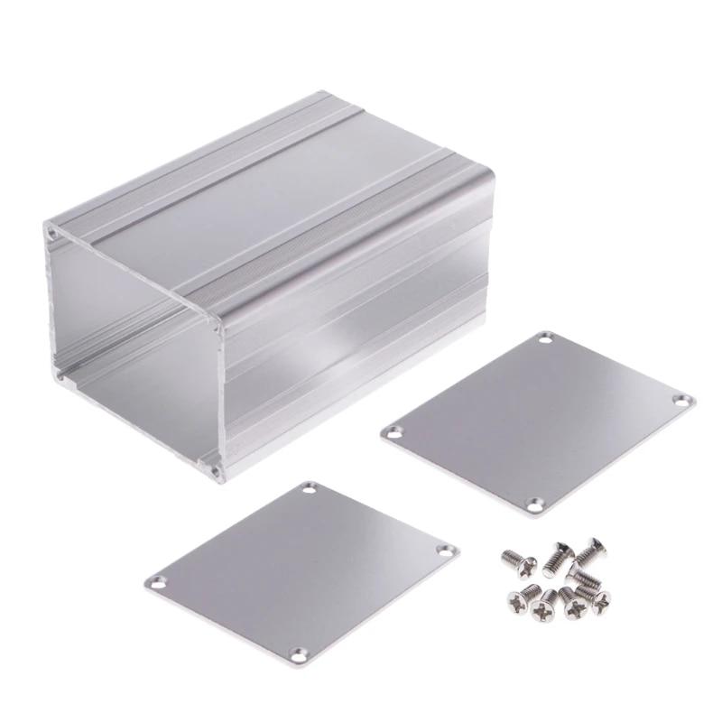 100x65x50mm DIY Aluminum Enclosure Case Electronic Project PCB Instrument Box