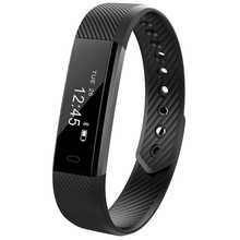 ID115 Bluetooth Smart Band Pedometer Fitness Tracker Step Counter