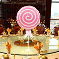 1 piece 18 inch Pink Lollipop balloons round bubble balloons for kids birthday balloons  (not include the stick)