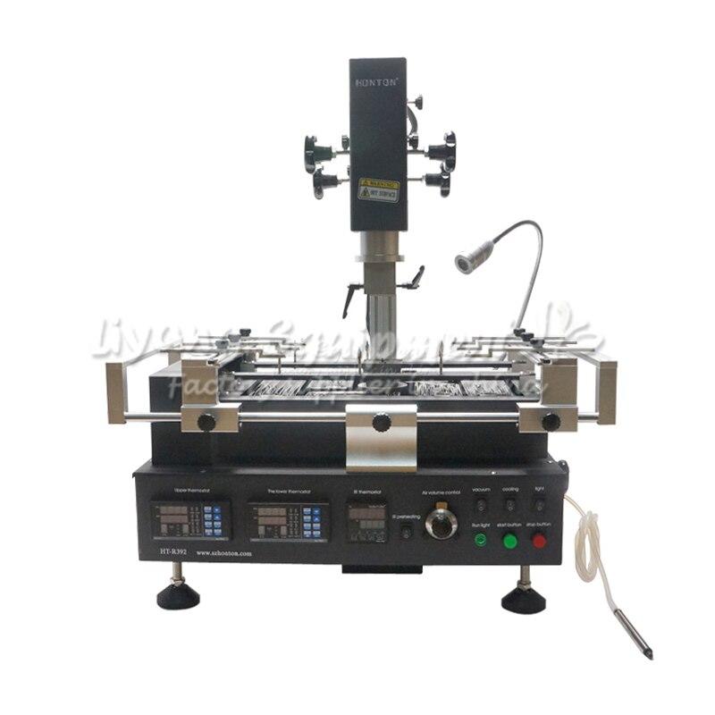 Hot Air HONTON HT-R392 Bga Rework Station,bga Reballing Machine for Repairing Computer Chips 800w heat element for hot air bga station honton r390 r392 r490 r590 up