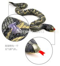 Snakes Large Moving Whimsy Inflatable Boa Constrictor Trick Toys Children Toy Animals Simulated Snake Model Horror Pvc Gifts
