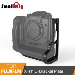 SmallRig X-H1 L-Bracket for Fujifilm X-H1 Camera Arca-Swiss Standard L Plate Mounting Plate With Battery Grip - 2240