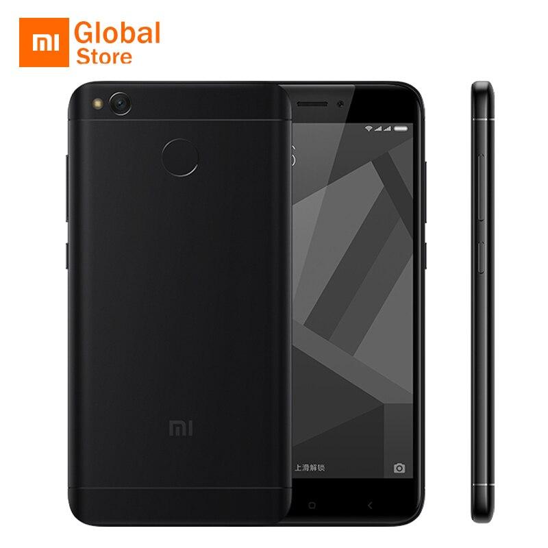 """Официальный Глобальный Встроенная память Xiaomi Redmi 4X мобильный телефон 3 ГБ Оперативная память 32 ГБ Встроенная память 4 X Snapdragon 435 Octa Core 5,0 """"13.0MP 4100 мАч смартфон"""