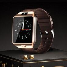 Купить с кэшбэком DZ09 Smart Watch 2018 Bluetooth Wrist Sport Watch With SIM TF Card Camera For Android Smartphone Russia T15 Good Than GT08 Y1 A1