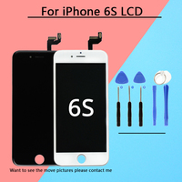 1PCS 100 TOP Grade AAA Screen For IPhone 6S LCD Display Replacement Lens Pantalla Touch Digitizer