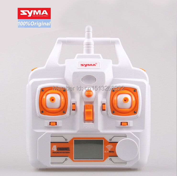 SYMA Transmitter Remote Control for SYMA X8C RC Helicopter Drone Quadcopter Accessories Spare Parts for syma x8sw x8sc remote control helicopter 3pcs battery and the us regulatory charger with 1 care 3 conversion line