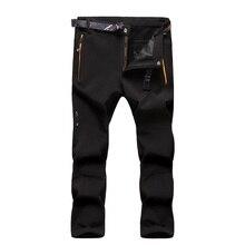 2016 Nouveau Hiver Épais Garçons Pantalon Enfants Marque Polaire Pantalon de Sport 12-14Y Enfants Thermique Escalade Pantalon Coupe-Vent SC571