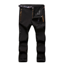 New Winter Thick Boys Pants Kids Brand Fleece Trousers Sports 12-14Y Children's Thermal Climbing Pants Windproof SC571