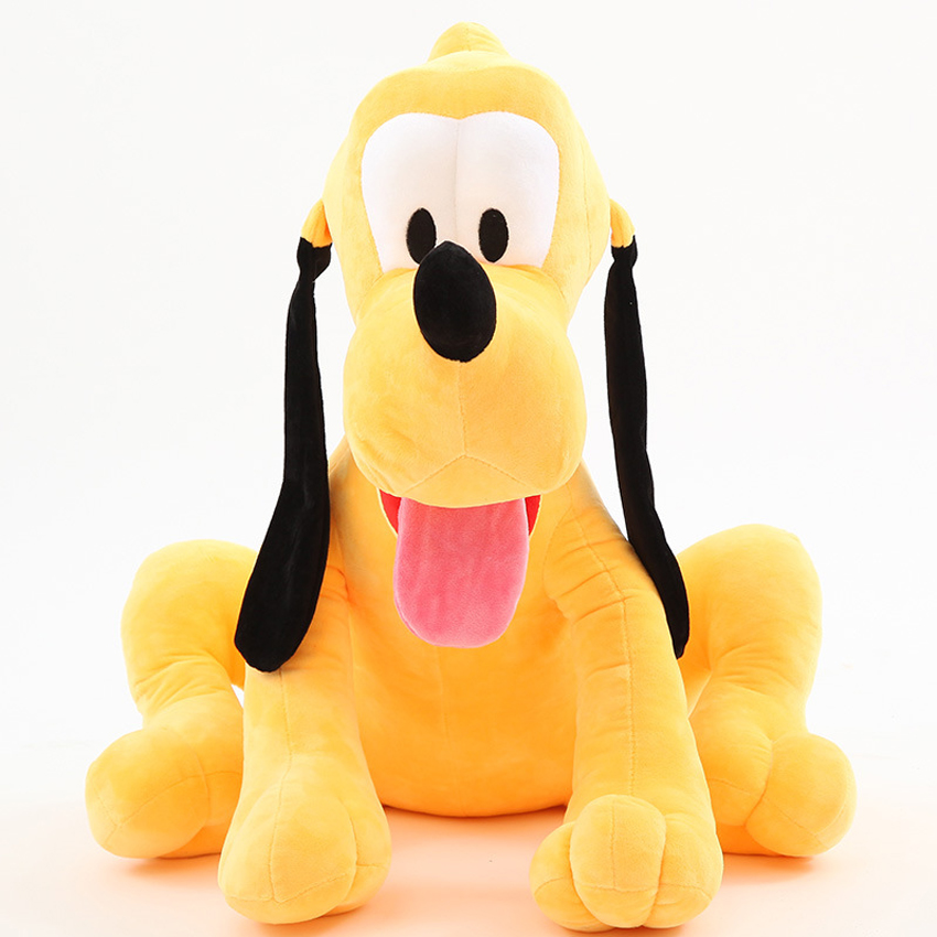 1pcs/lot 30cm Sitting Plush Pluto Dog Doll Soft Toys stuffed animals toys for children Mickey Minnie For kids girls Gifts 1pcs 28cm minnie and mickey mouse low price super plush doll stuffed animals plush toys for children s gift