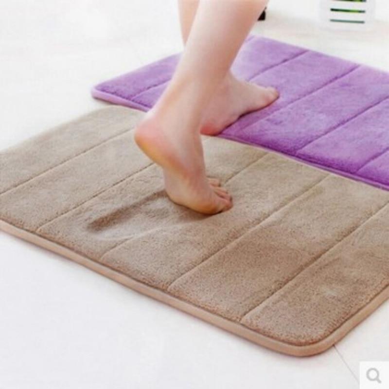 40x60cm Memory Foam Badematten Bad horizontale Streifen Teppich - Haushaltswaren - Foto 3
