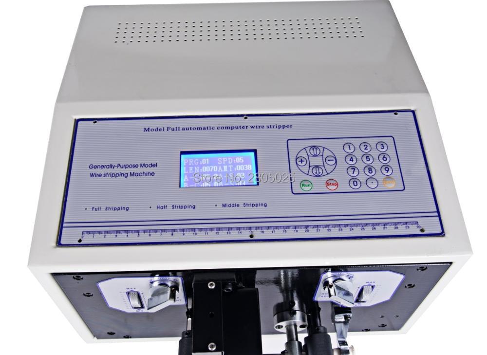 Automatische Draht Stripper 110 220 V draht cutter 0,1 6mm2 SWT508D II Computer streifen maschine mit LCD display draht stripper werkzeug - 4