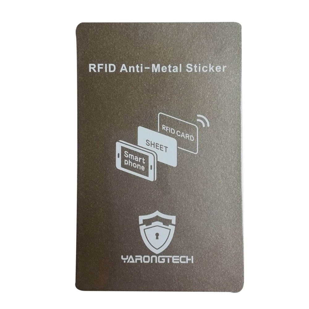 RFID Anti-Metal Sticker,Stick On RFID Card Read On Metal Cell Phone Work