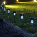 Solar Pathway lights, Koolife Led Path Landscape Lights for Outdoor Garden Lighting- Easy Installation- Water Resistant
