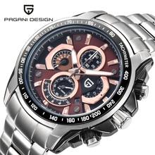 2016 Hommes de Montres Top Marque De Luxe PAGANI DESIGN Quartz Montre Plongée 30 m Sport Montre-Bracelet Militaire Horloge Heures Relogio Masculino