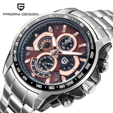 2016 Men's Watches Top Brand Luxury PAGANI DESIGN Quartz Watch Dive 30m Sport Wristwatch Military Clock Hours Relogio Masculino