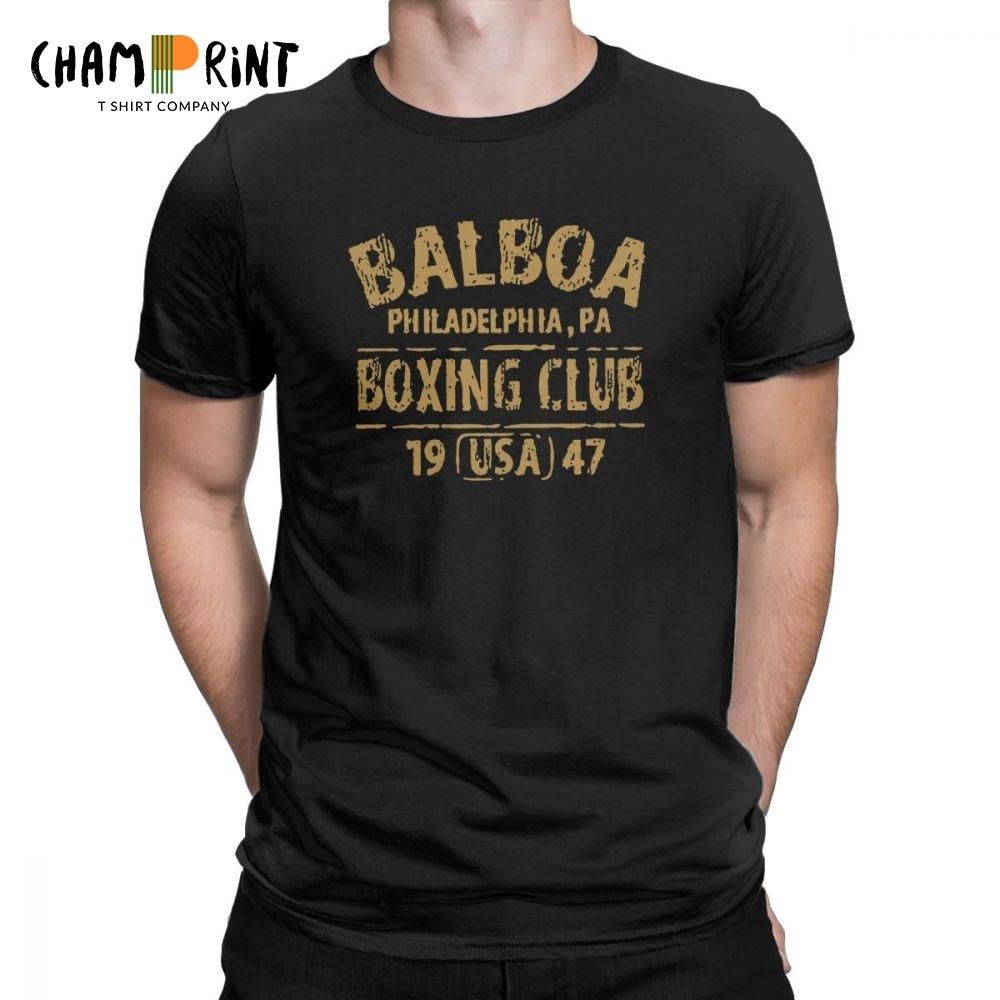 BALBOA BOXING CLUB GYM T-Shirt Tee Men/'s Tshirt Size S to 3XL