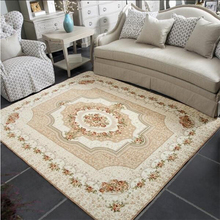 1200mm x1700mm  800mmx1200mm large carpet for living room children's crawling carpet European Jacquard Coral Fleece Rug bohemian mandala coral fleece skidproof rug