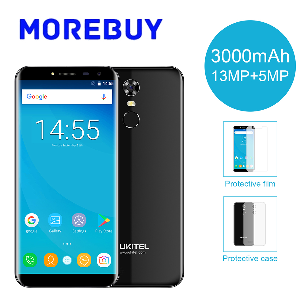 OUKITEL C8 4G Smartphone MT6737 Quad Core 2G RAM 16G RAM 5 5 HD 18 9