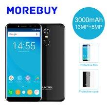 """OUKITEL MT6737 C8 4G Smartphone Quad Core 2G RAM 16G RAM 5.5 """"HD 18:9 Android 7.0 13.0MP 3000 mAh Del Teléfono Móvil de Huellas Digitales WCDMA"""