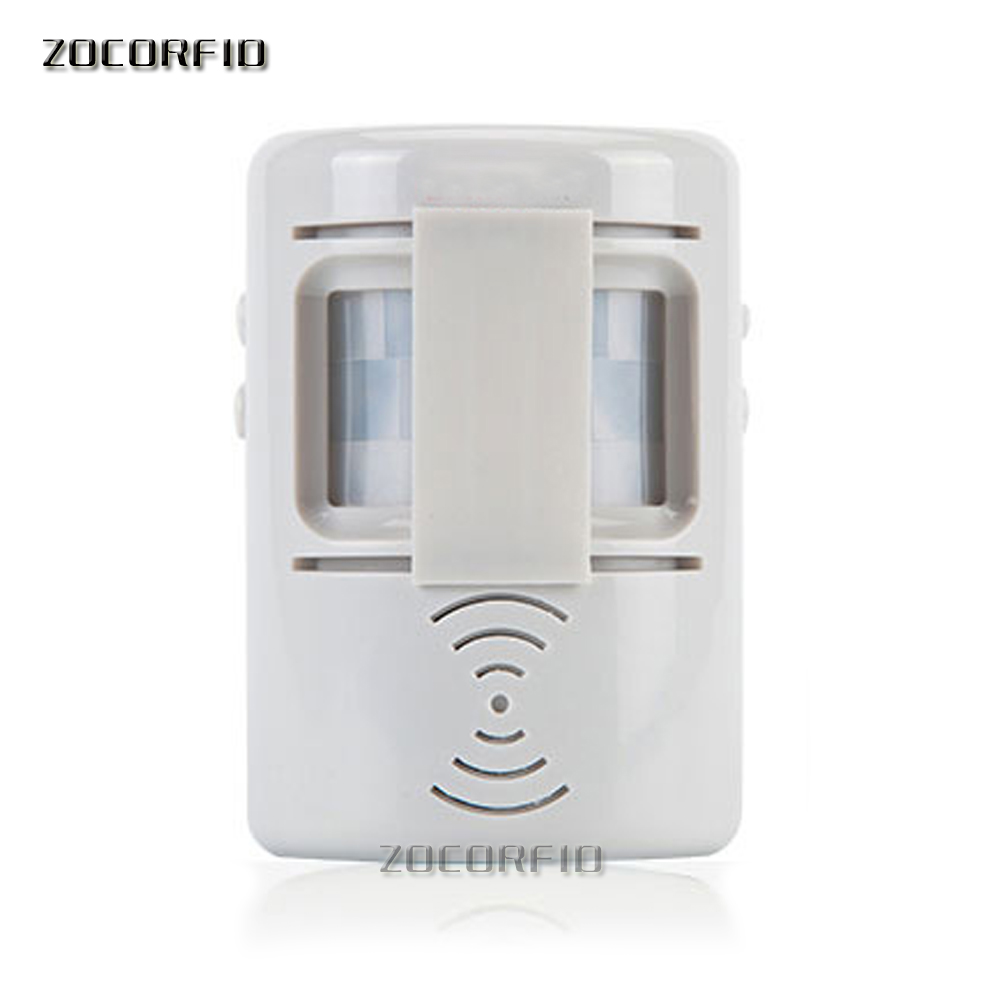 Two kinds voice Entry /out Shop/ Store/ Home Welcom Chime Bell Welcome Infrared IR Motion Sensor Door bell Alarm Doorbell ks v2 welcom chime bell sensor