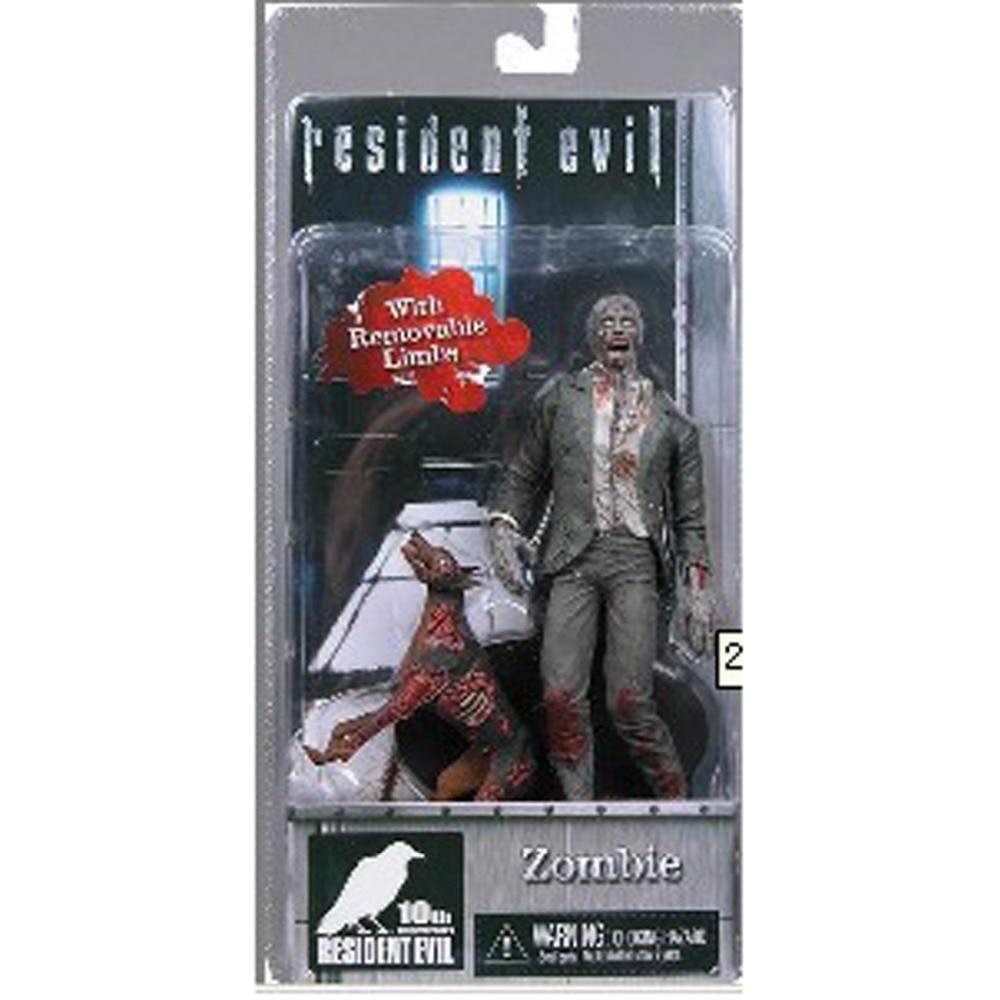 Neca Resident Evil 10th Anniversary Zombie 7 Action