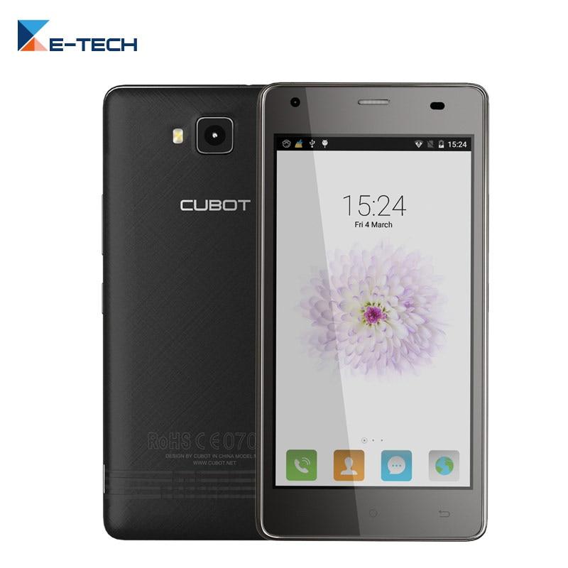 Цена за Оригинал Cubot Смартфон Эхо MTK6580 Quad Core Android 6.0 Сотовый Телефон 5.0 Дюймов HD Экран 2 ГБ RAM 16 ГБ ROM 13MP Мобильный Телефон