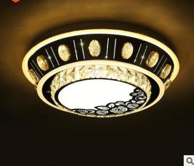 Chambre plafonnier balcon plafonnier moderne cristal plafonnier LED lampe de chambre créative|Plafonniers| |  -