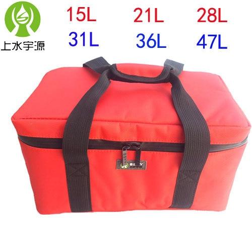 18L 28L 36L 47 Lcapacity тепловой мешок Автомобиля охладитель коробки оксфорд 8 мм хлопок толще сумка-холодильник холодильник bolsa termica